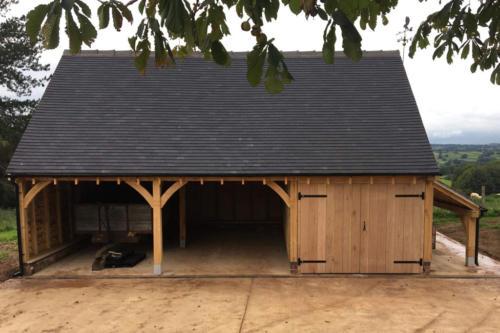 3-Bay-Oak-Garage